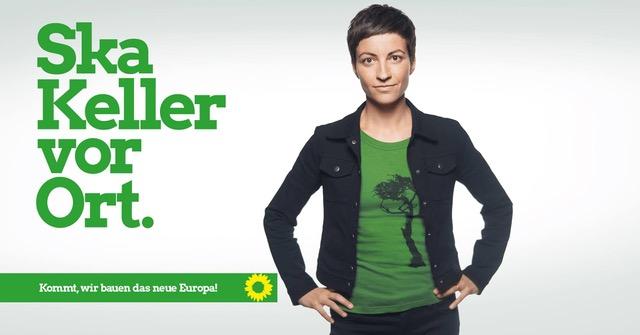 Ska Keller Europa-Spitzenkandidatin